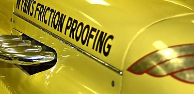 Photograph - Wynn's Friction Proofing Indy 500 2116 by Jerry Sodorff