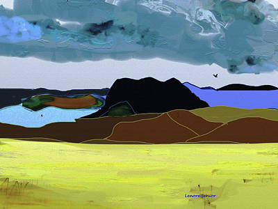 Wyoming Landscape 1 Art Print
