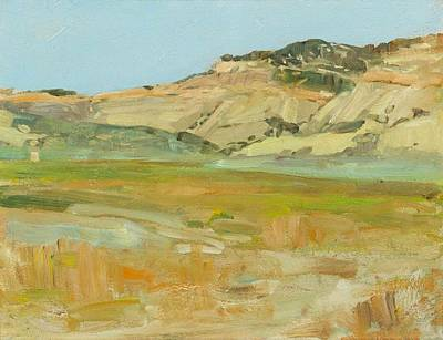 Wyoming Painting - Wyoming Landscape by Tenney Johnson