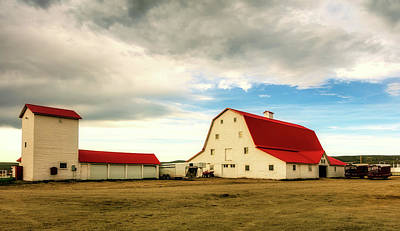 Photograph - Wyoming Ranch by L O C