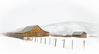 Photograph - Wyoming Ranch by Sean Allen