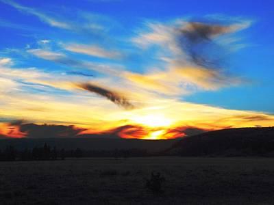 Photograph - Wyoming Sunset by Adam Cornelison