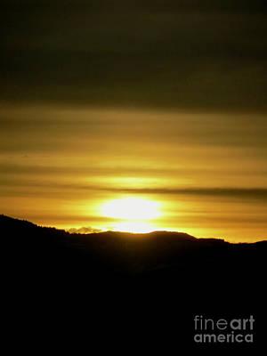 Ending Life Photograph - Wyoming Sunrise by Rachel Morrison