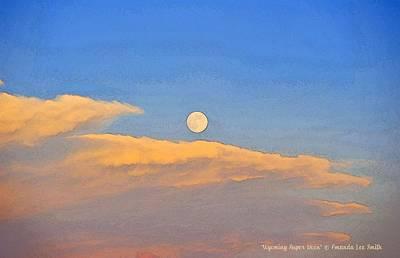 Photograph - Wyoming Super Moon by Amanda Smith