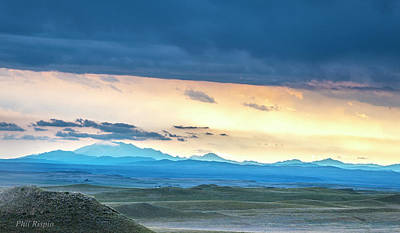 Photograph - Wyoming Vista by Philip Rispin