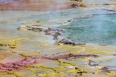 Photograph - Wyoming Yellowstone National Park  by John McGraw