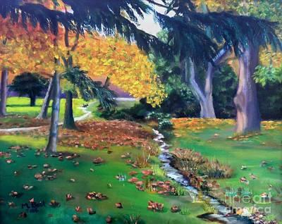 Painting - Wyomissing Creek by Marlene Book