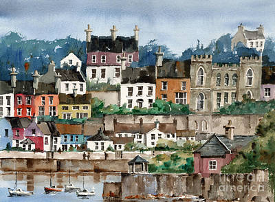 Painting - F 762   Kinsale Harbour, Cork by Val Byrne