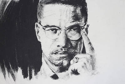 African-american Drawing - X by Brandon Coley