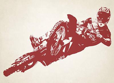 X Games Motocross 2 Art Print