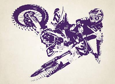 X Games Motocross 3 Art Print