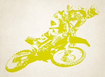 X Games Motocross 5 Art Print
