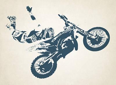 X Games Motocross 6 Art Print