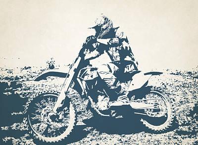 X Games Motocross 7 Art Print