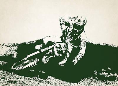 X Games Motocross 9 Art Print