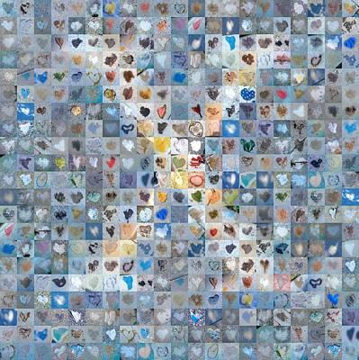 Digital Art - X In Cloud by Boy Sees Hearts