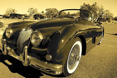 Photograph - X K 150 Jaguar by John Schneider
