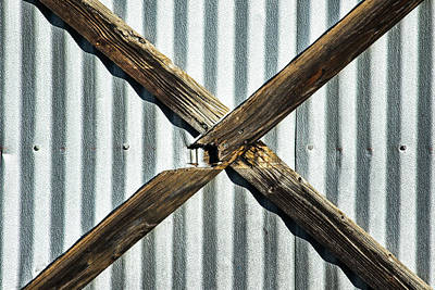 Art Print featuring the photograph X Marks The Spot by Karol Livote