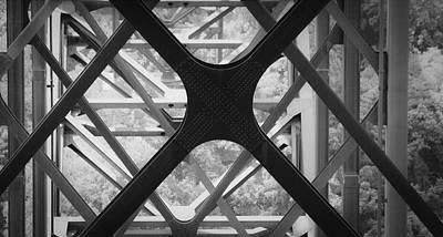 Cross-bar Photograph - X Marks The Spot by Teresa Mucha