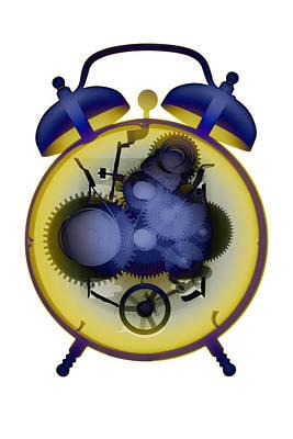 Photograph - X-ray Alarm Clock No. 10 by Roy Livingston
