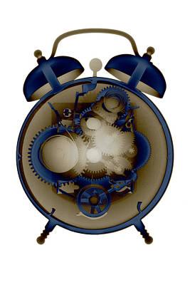 Photograph - X-ray Alarm Clock No. 8 by Roy Livingston