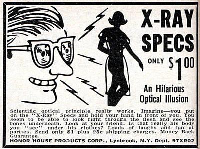 X-ray Specs $1.00 Art Print