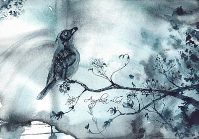 Painting - X-ray Vision I by Angelina Ligomina