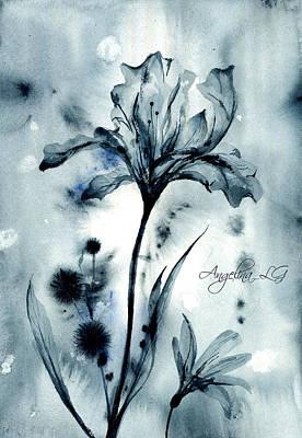 Painting - X-ray Vision Iv by Angelina Ligomina