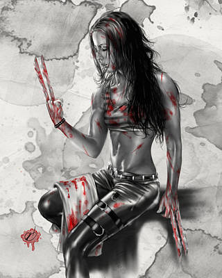 X23 Art Print by Pete Tapang