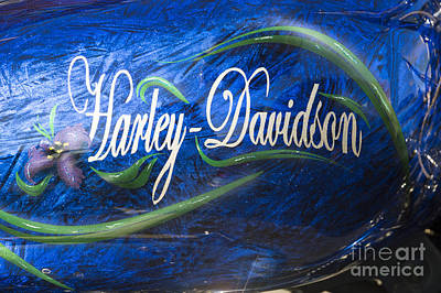 Photograph - Harley Davidson 2 by Wendy Wilton