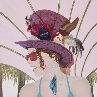 Painting - Xandra by Meniyka Kiravell
