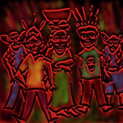 Digital Art - Xantolo by Latha Gokuldas Panicker