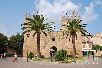 Photograph - Xara Gate In Alcudia On Majorca by David Fowler