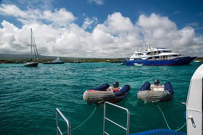 Photograph - Xavier IIi Pangas Puerto Ayora by Harry Strharsky