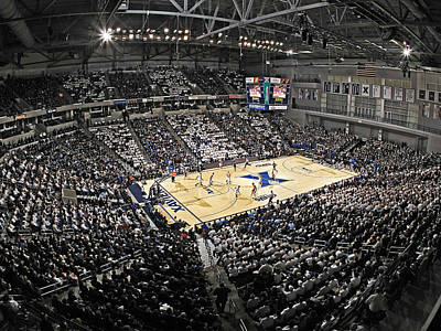 Xavier Musketeers Cintas Center Art Print by Replay Photos