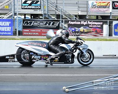 Photograph - Xda Drag Racing 27 by Jack Norton