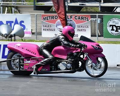 Photograph - Xda Drag Racing 31 by Jack Norton