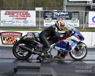 Photograph - Xda Drag Racing 32 by Jack Norton