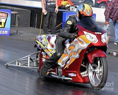 Photograph - Xda Drag Racing 33 by Jack Norton