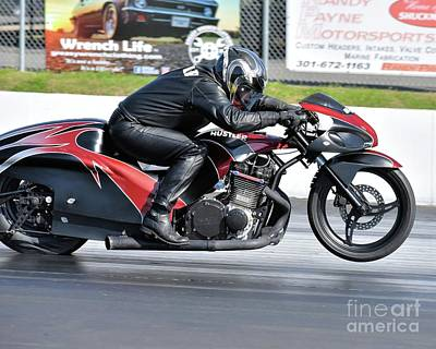 Photograph - Xda Drag Racing 42 by Jack Norton