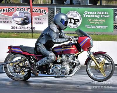 Photograph - Xda Drag Racing 43 by Jack Norton