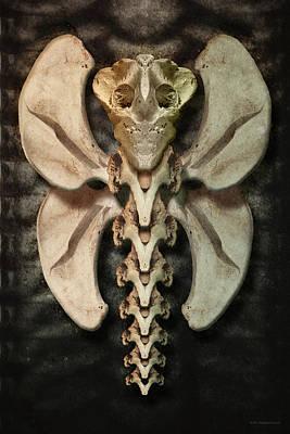 Digital Art - Xenofly by WB Johnston