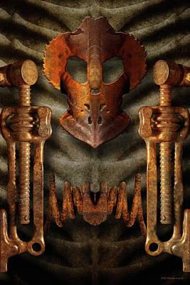 Digital Art - Xenomask by WB Johnston