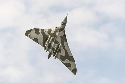 Photograph - Vulcan Overhead by Gary Eason