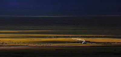 Photograph - Xin Jiang 04 by Junzhu Cao
