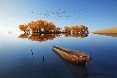 Photograph - Xin Jiang 10 by Junzhu Cao