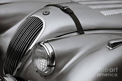 Antique Automobiles Photograph - Xk 120 by Dennis Hedberg