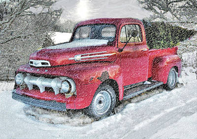 Photograph - Xmas Delivery by William Griffin