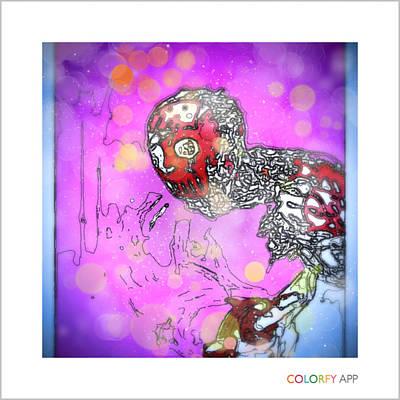 Digital Art - Xmas Jason by Dan Sheldon