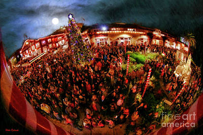 Photograph - Xmas On Cannery Row Monterey by Blake Richards
